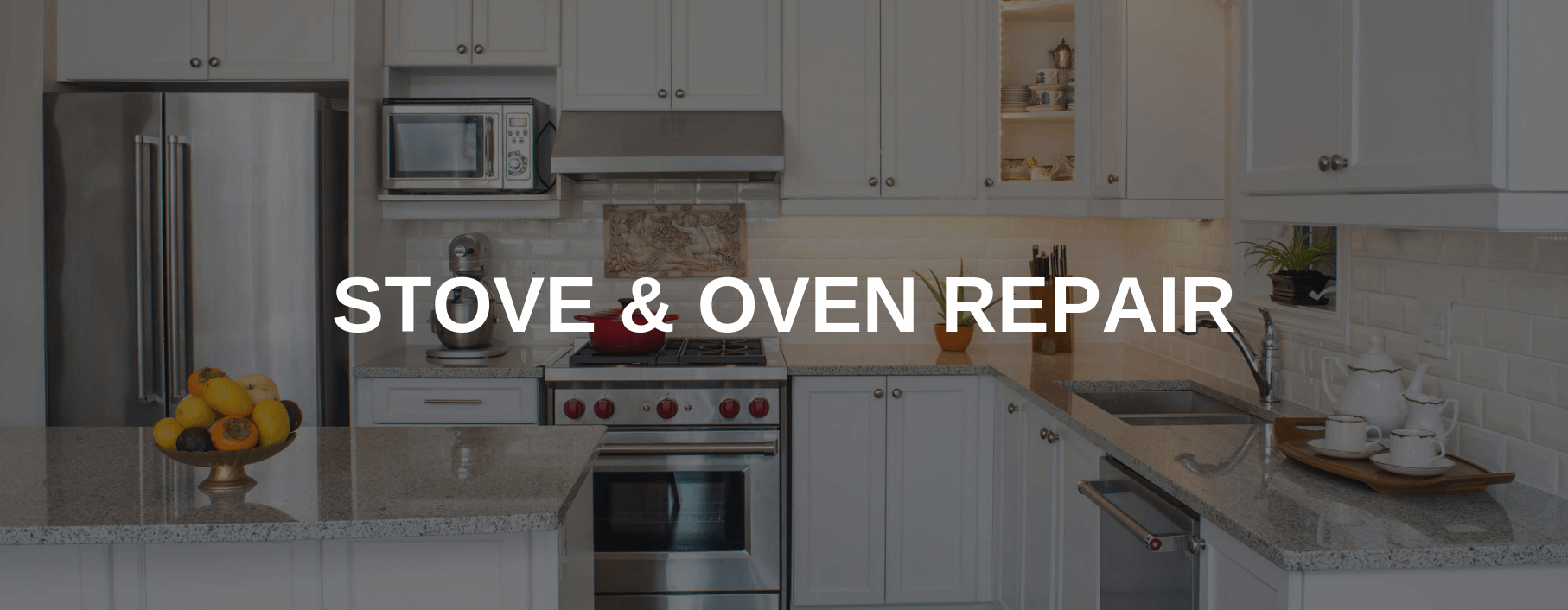 stove repair east orange